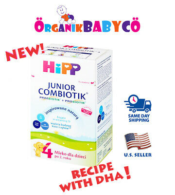 HiPP Stage 4 JUNIOR ORGANIC COMBIOTIK Baby Formula AFTER 2 YEARS