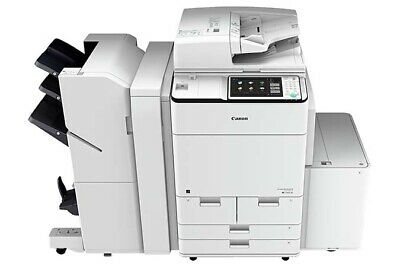 Canon Imagerunner Advance 7580I Digital Copier, Low Meter,Feeder,Stpl. Finisher