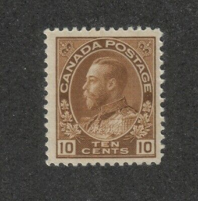 Canada - SC#118 Mint NH 10 cent KGV Admiral issue