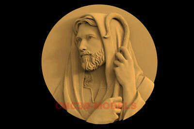 3D Model STL CNC Router Artcam Relief Religious Jesus Christ Religion IS24