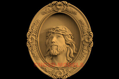 3D Model STL CNC Router Artcam Relief Religious Jesus Christ Religion IS9