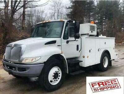 2013 International 4300 Service Mechanic Utility Truck Compressor and Crane!