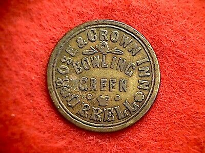 Rose and Crown Orrell 2d Pub Token