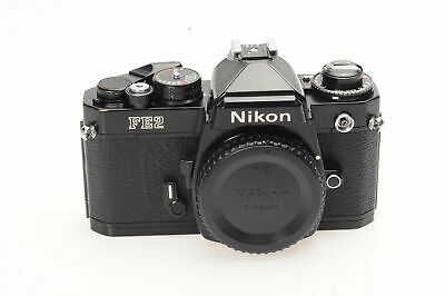 Nikon FE2 SLR Film Camera Body Black                                        #791