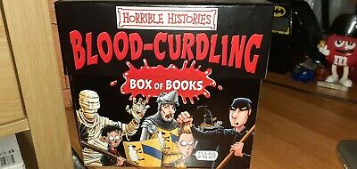 Horrible Histories 20 Brillant Blood-Curdling Book Box Set Used Excellent Cond