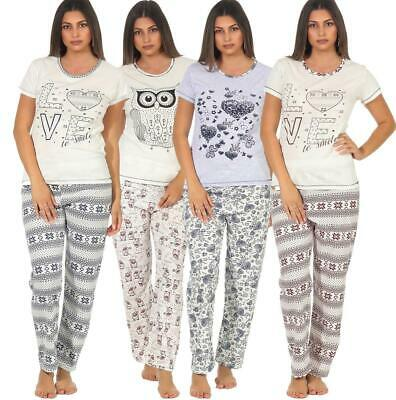 Women's Pyjamas Two-Piece Leisure Suit Summer Pyjama Set Night Wear