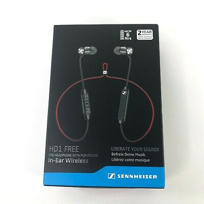Sennheiser HD1 FREE In-Ear Wireless Bluetooth Headphones NEW Sealed