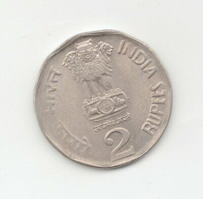 India Uncirculated 1994 2 Rupees-Lot D2