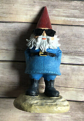 "Travelocity Roaming Gnome Collectible Desk Figure 8x4"" 2013"