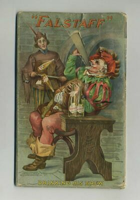 1904 Falstaff Beer Double-Sided Novelty Card Advertising Lemp Brewery yz2250