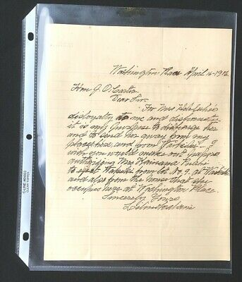1906 QUEEN LILIUOKALANI LETTER - Rare !!! - Hawaiian Hawaii antique book photo