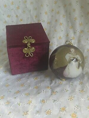 Pier 1 Chinese Li Bien Angel Ornament With Original Box