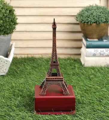 Metal Eiffel Tower Statue Handmade Figurine Sculpture Table Decorative Showpiece