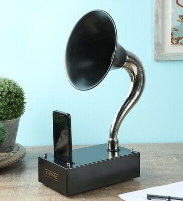 Vintage Gramophone for I phone Mobile Classic Wireless Speaker Music Player