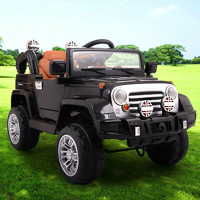 Electric Kids Ride on Car 12V Battery Powered Vehicles W/Remote Control RC, MP3