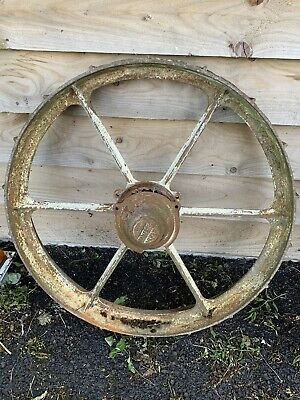 old cast iron wheels