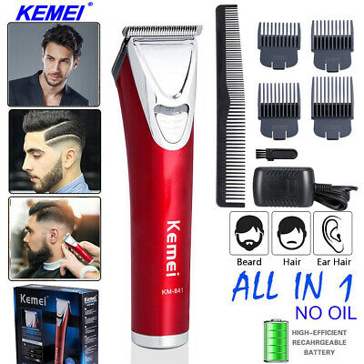 Electric Mens Shavers Hair Clippers Trimmers Beard Cutting Machine Cordless UK