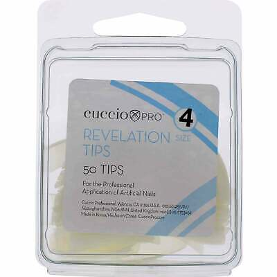 Cuccio - Professional Revelation Tips - Size 4 (50 Tips) (10042)