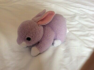 """Rare Ty Beanie Babies Lilac The Bunny Rabbit No.41702 Collectible 6.75"""""""