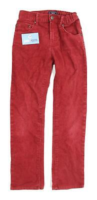 Gap Boys Textured Red Slim Straight Jeans Age 12
