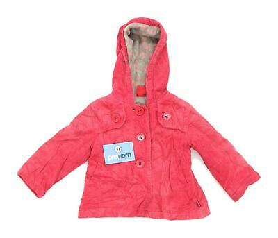 Pumpkin Patch Girls Textured Pink Coat Age 3