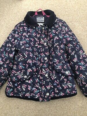 Girls Joules Coat Age 4