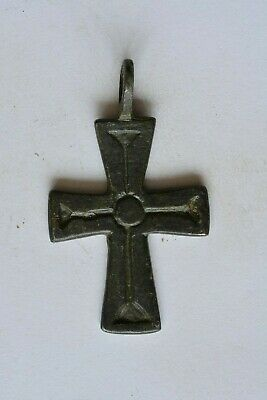 Medieval bronze cross Crusader & Templar era 11-13th century AD