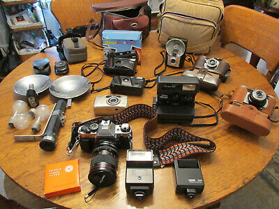 Lot of Cameras - Vintage and more