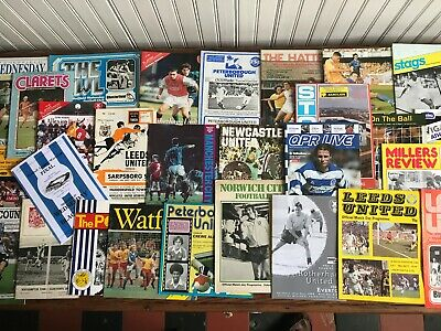 Bundle of programmes, League, Cup & big matches + Extra Item - Lot H 15