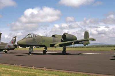 Original 35mm Aircraft slide   77-0268 WR   Fairchild A-10A Thunderbolt II Jun 1