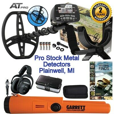 2020 NEW Garrett AT PRO Metal Detector With MS-2 Headphones and AT Pro Pointer!