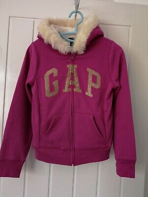 GAP  Girls Winter Hoodie Fur size 13 years
