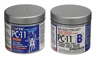 PC-Products PC-11 Epoxy Adhesive Paste, Two-Part Marine Grade, 1/2lb in Two Cans