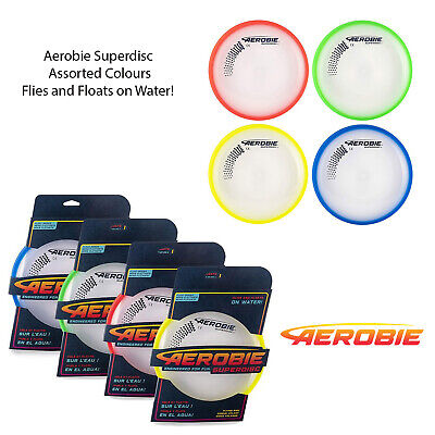 Aerobie Assorted Colour Superdisc Outdoor Flying Disc Frisbee Sport Toy Game