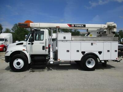 2013 International Durastar 4300 50' Reach Bucket Truck
