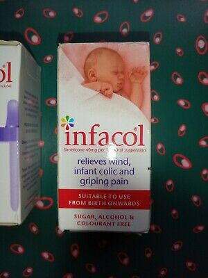 INFACOL FOR BABIES RELIEVES WIND, COLIC AND GRIPING PAIN 50 mls BRAND NEW RRP £5