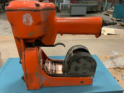 CCC Pneumatic Roll Feed Carton Stapler Used