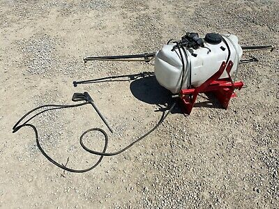 30 Gallon 3-Point Hitch 8-Foot BOOM SPRAYER ~ Country Line