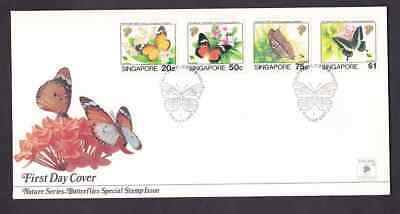 Singapore 1993 FDC 1st day cover Butterflies