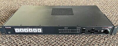 Extron Scaling Audio Video 6 Input Presentation Switcher IN1606 Rackmount Nice