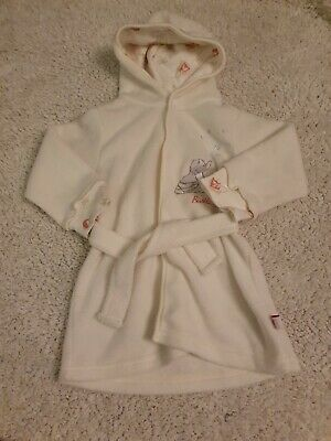 Mothercare Girls Dressing Gown 0-6 Months