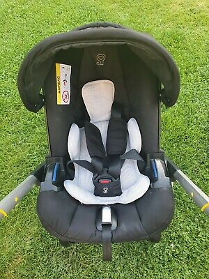 doona infant car seat stroller with Seat Protector Infant Insert And Rain Cover