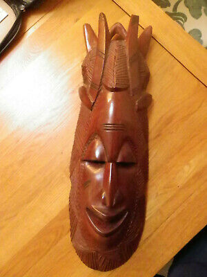 African Tribal Mask 23 inches tall