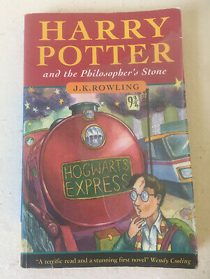 Harry Potter and The Philosophers Stone, 3rd Printing, Wendy Cooling, Paperback.