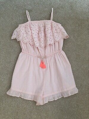 Girls M&S Playsuit - Age 9/10 Years