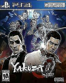 """Yakuza Zero"" for Sony Playstation 4 (PS4) from Sega"