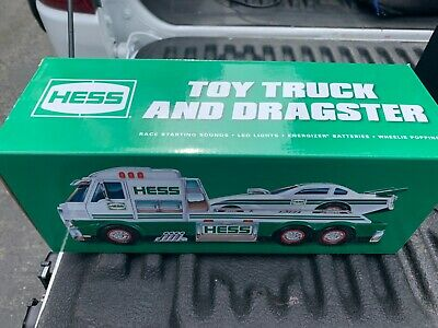 2016 Hess Toy Truck Collectible - RARE Hess truck with Dragster race car NEW