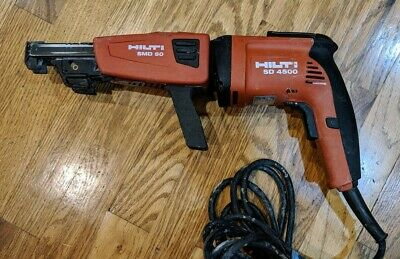 Hilti SD 4500 + SMD 50 Drywall Screw Gun