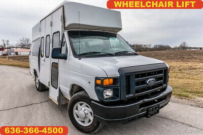 2008 Ford E350 handicap accessible wheelchair lift raised roof transport van