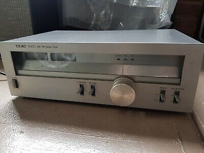 Vintage TEAC TX-300 AM/FM Stereo Radio Tuner Hi-Fi component Made In Japan